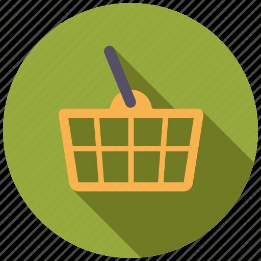 basket, commerce, retail, shop, shopping, shopping basket, trade icon