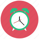 alarm, clock, retro, vintage icon