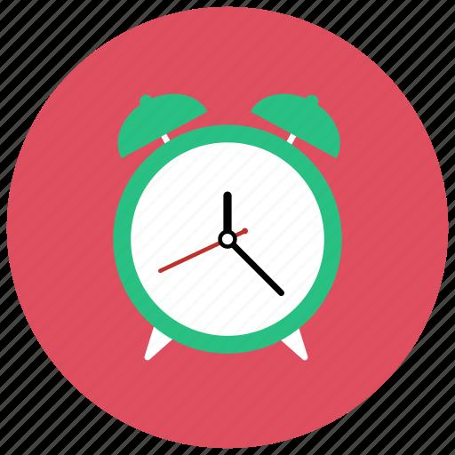 alarm, clock, retro, vintage icon