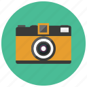 camera, photography, retro, video icon