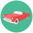 car, retro, transportation, vehicle, vintage icon