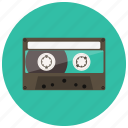 cassette, audio, music, retro, vintage