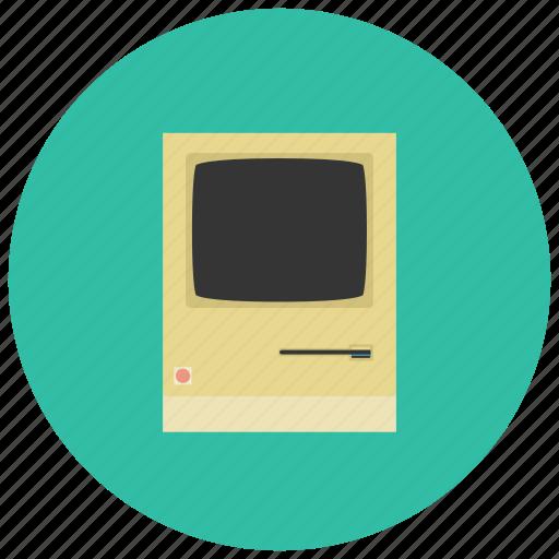 computer, device, retro, tech, vintage icon