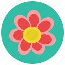 floral, flower, plant, retro icon