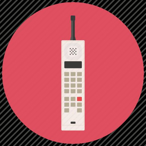 mobile, phone, retro, vintage icon