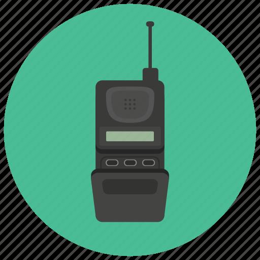 communication, mobile, phone, retro, vintage icon