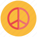 hippie, peace, retro, sign, vintage