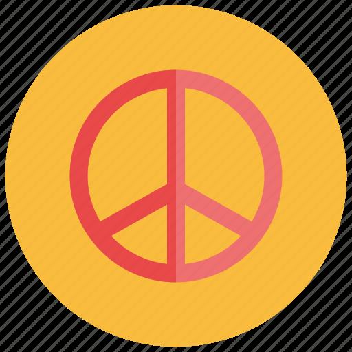 hippie, peace, retro, sign, vintage icon