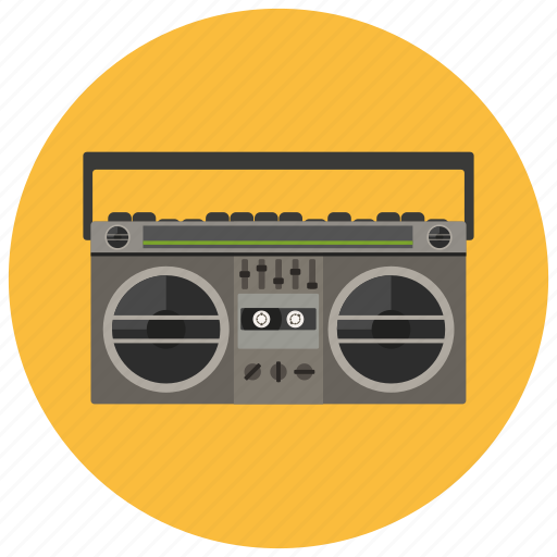 audio, radio, retro, vintage icon