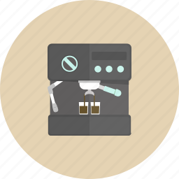 barista, brew, caffeine, coffee, coffee machine, drink, espresso icon