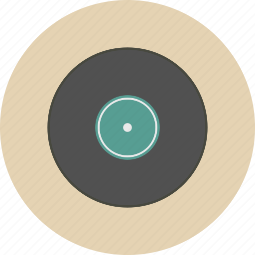 cd, entertainment, equipment, gadget, music, retro, song icon