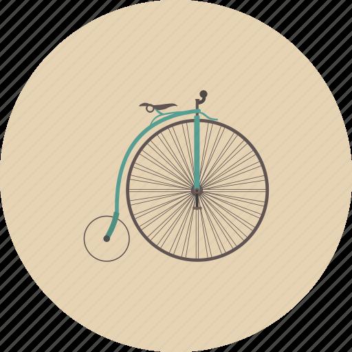 bicycle, bike, entertainment, equipment, gadget, retro, wheel icon