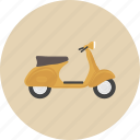 bike, entertainment, equipment, gadget, motorcycle, retro, scooter icon