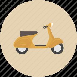 bike, entertainment, equipment, gadget, motorcycle, retro, scooter icon