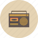 audio, entertainment, equipment, gadget, music, radio, retro icon