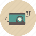 audio, entertainment, equipment, gadget, music, retro, sound icon