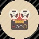 audio, entertainment, equipment, gadget, recorder, retro, sound icon