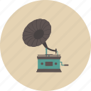 entertainment, equipment, gadget, gramaphone, music, retro, song icon