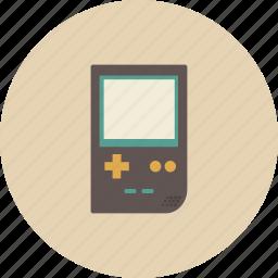entertainment, equipment, gadget, game, game boy, play, retro icon