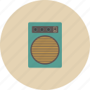 entertainment, gadget, loudspeaker, music, retro, song, sound icon