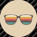 accessories, entertainment, equipment, eyeglasses, gadget, retro, sunglasses icon