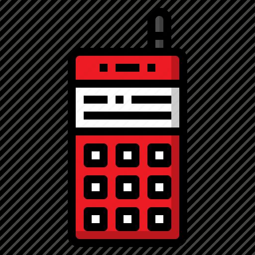 feature, mobile, phone, retro, telephone icon