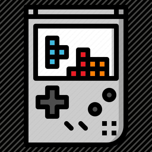 'Retro gadget fill outline' by ZIRSOLOSTUDIO