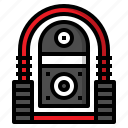audio, jukebox, music, song, sound icon