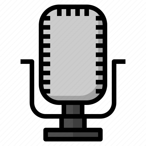 Microphone, music, sing, song, voice icon - Download on Iconfinder