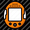 digital, pet, retro, tamagotchi, toy icon