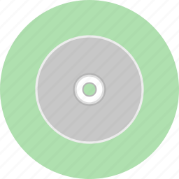 cd, disk, gadget, hipster, music, retro, song icon