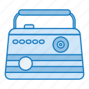 music, radio, radio program, retro, song icon