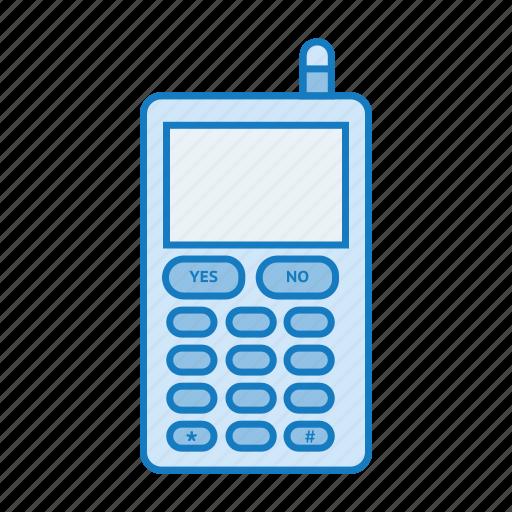 mobile, phone, retro, tech, telephone icon icon