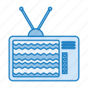 box, cable, mintie, retro, screen, set, television icon