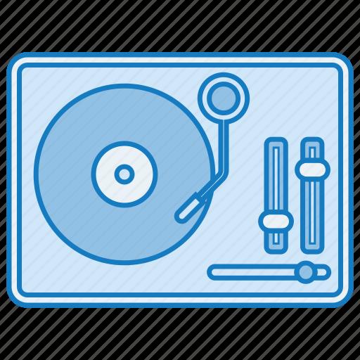 music, retro, sound, tune, turntable icon icon