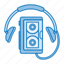 audio, music, retro, sony, tech, walkman icon