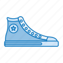 boot, retro, retro style, run, walk, wear icon
