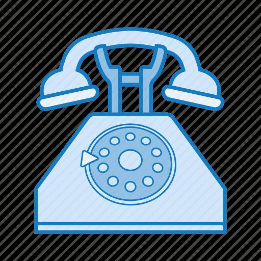 phone, retro, tech, telephone icon icon