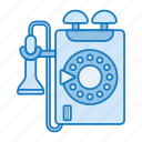 phone, retro, tech, telephone icon