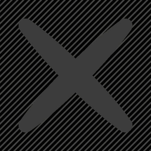 cancel, close, delete, deny icon