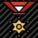 badge, rank, sheriff, star, army