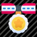 soldier, medal, award, badge, achievement, reward, trophy