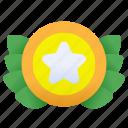 best, star, award, achievement, badge, reward, winner