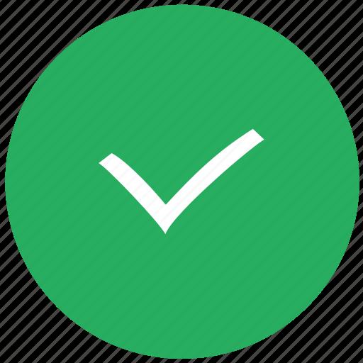 accept, check, checkmark, done, green icon