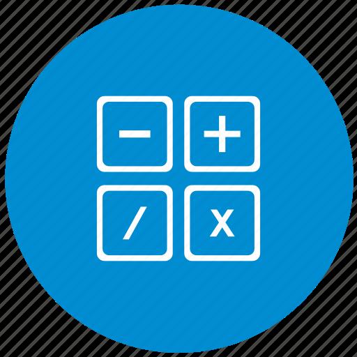 calc, calculator, count, instrument, math icon