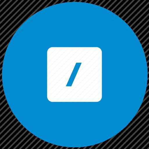 blue, calc, calculator, divide, math, operation, round icon