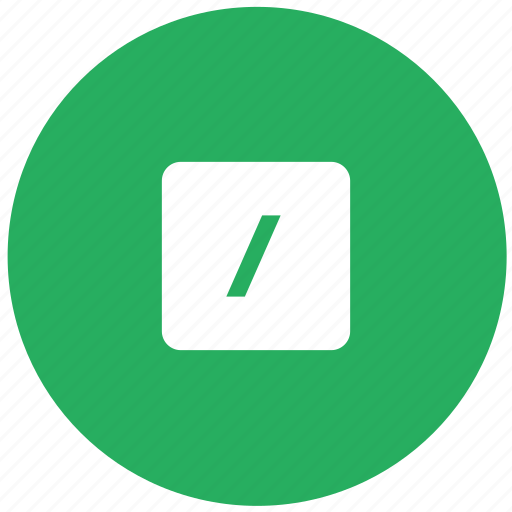 calc, calculator, divide, green, math, operation icon