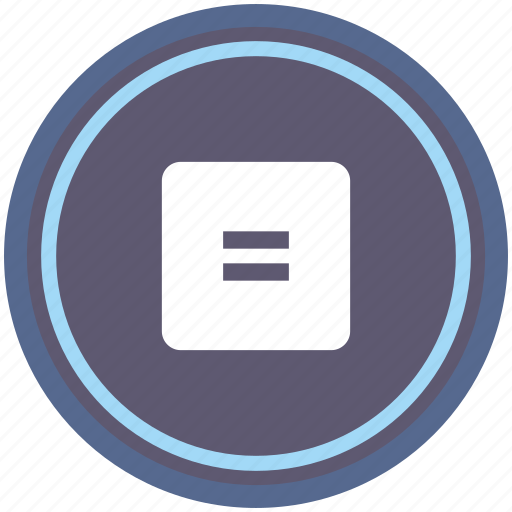 calc, calculator, equally, math, operation, round icon