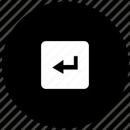 calculator, enter, function, math icon