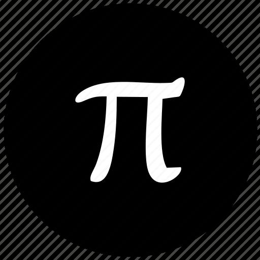 alphabet, greek, letter, pi icon
